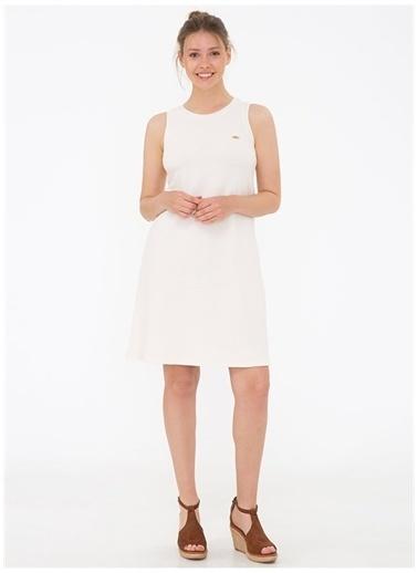 U.S. Polo Assn. Elbise Krem